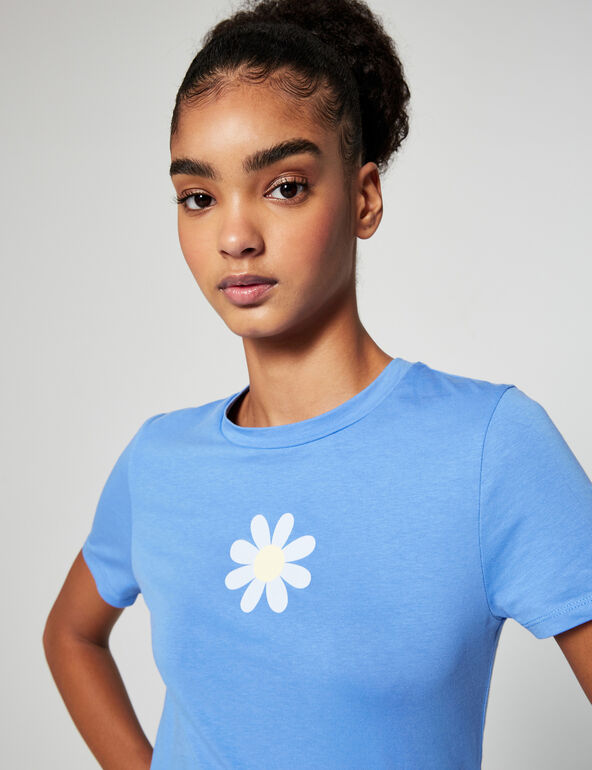 Tee-shirt ajusté à motifs