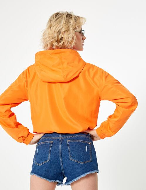 veste légère orange