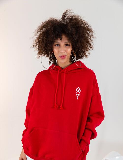 Oversized 'radish' hoodie