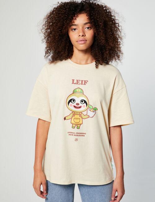 Tee-shirt Animal Crossing oversize
