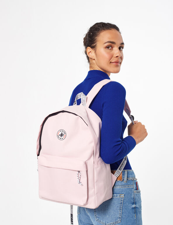 Back pack with message