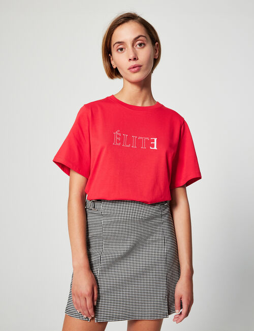 Tee-shirt brodé Elite