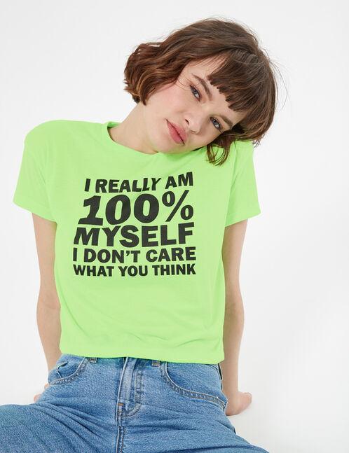 tee-shirt 100% myself