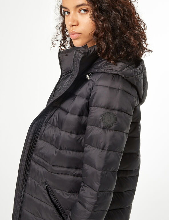 Long padded jacket
