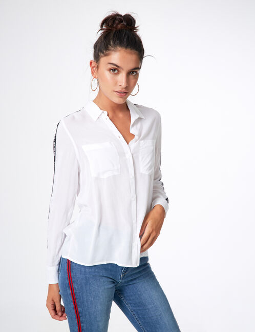 chemise nothing to loose blanche