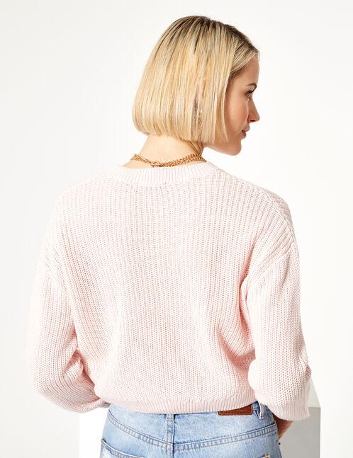 Basic pink jumper