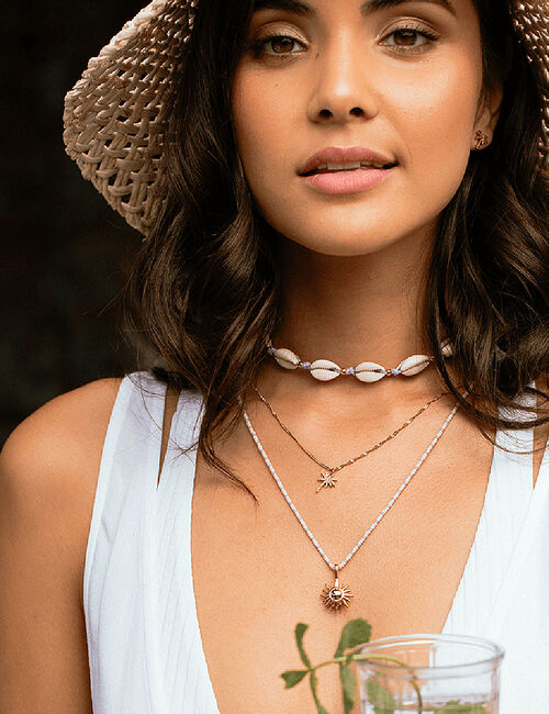 Collier Cowry Shell