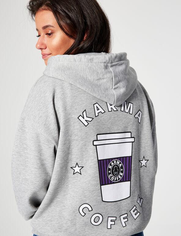 Sweat à capuche Koffee