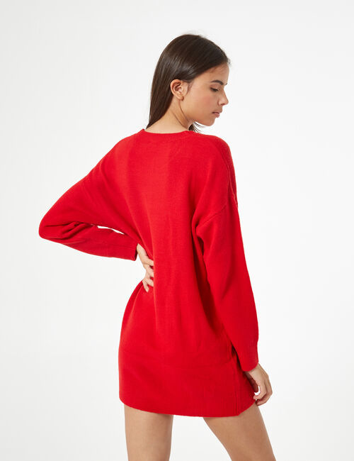 Pull long toucher cachemire