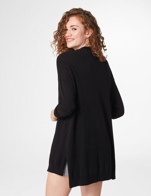 Black lightweight cardigan