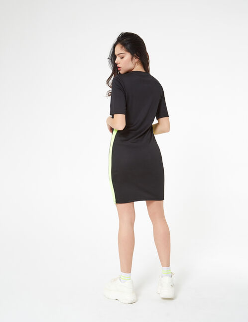 robe avec bandes