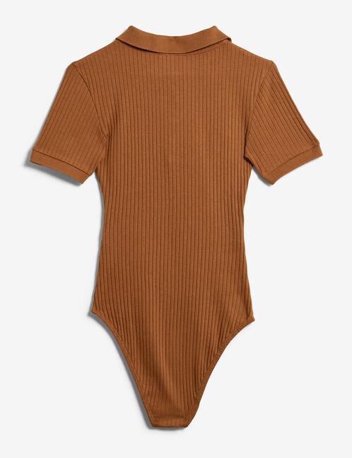 Camel sporty bodysuit