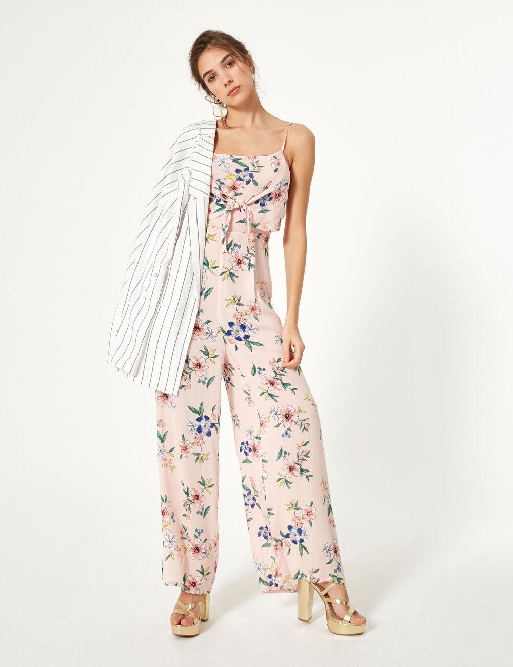 Jennyfer robe longue rose