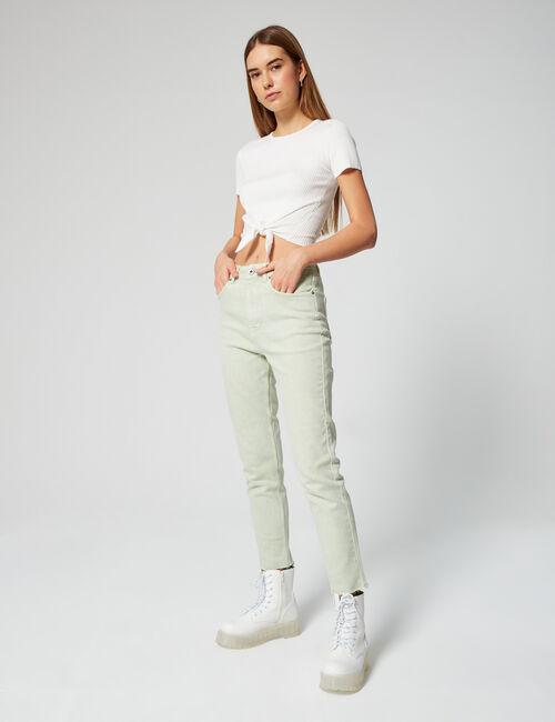 Pantalon mom