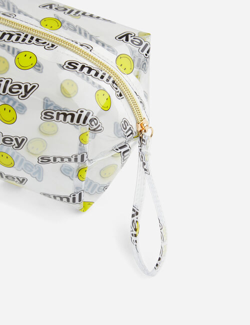 Trousse Smiley transparente