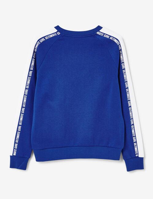 """Blue """"ultimate girl"""" sweatshirt"""