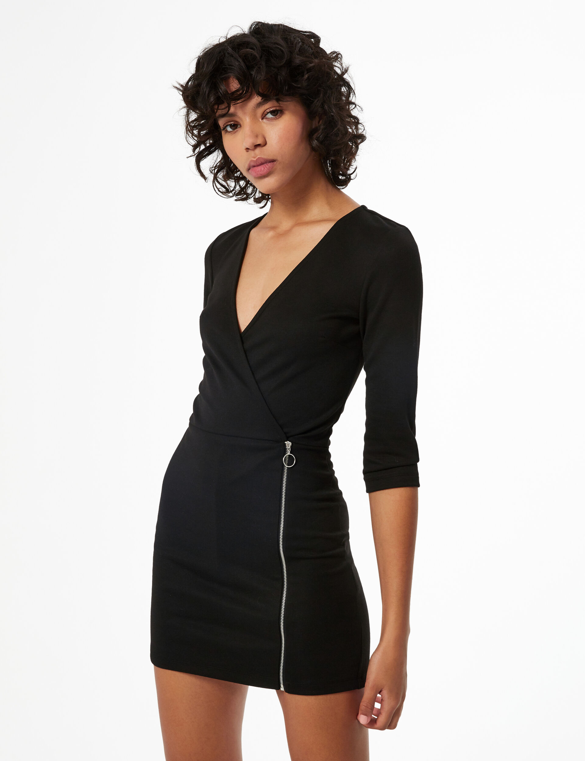 Playsuit with zip detail