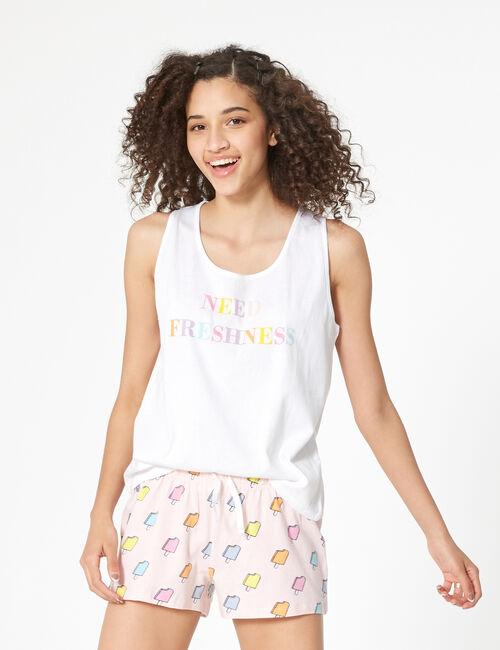 Set pyjama glaces