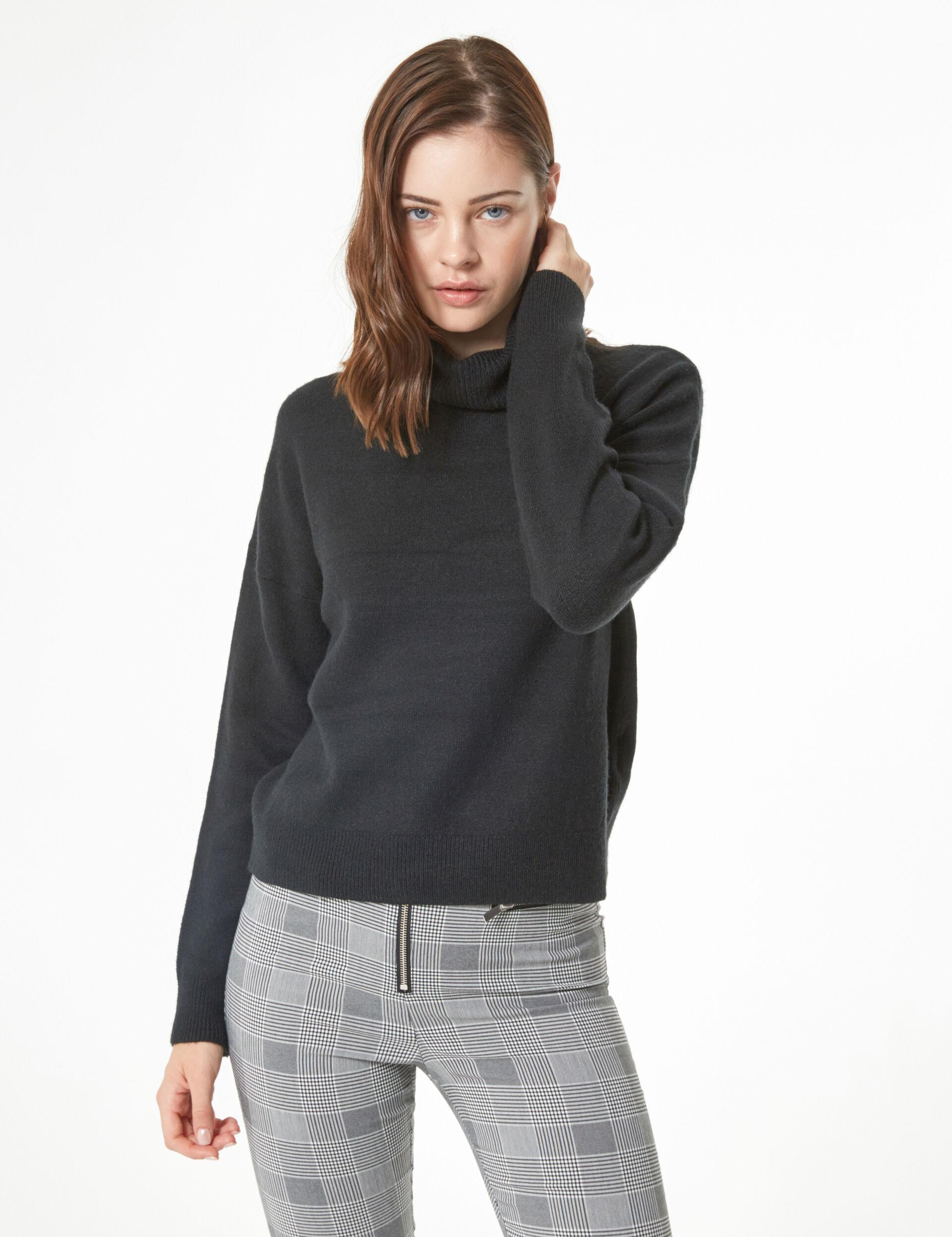 Cashmere-feel jumper