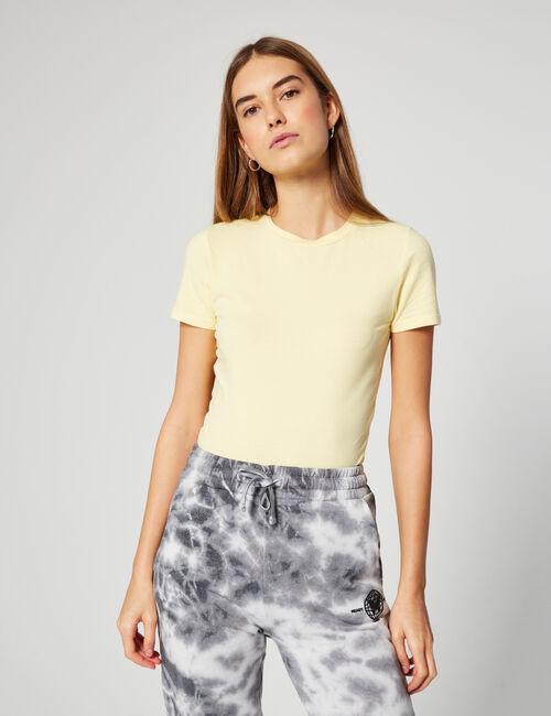 Tee-shirt basic ajusté