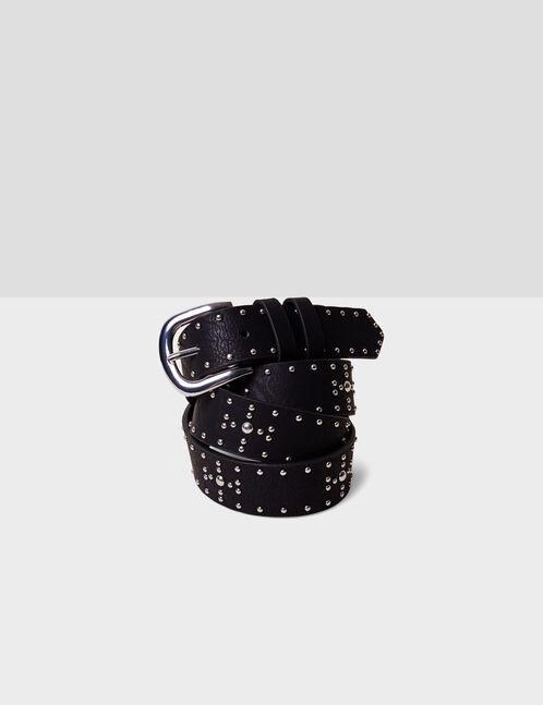 Black belt with stud detail