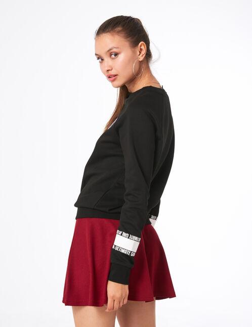 """Black """"ultimate girl"""" sweatshirt"""