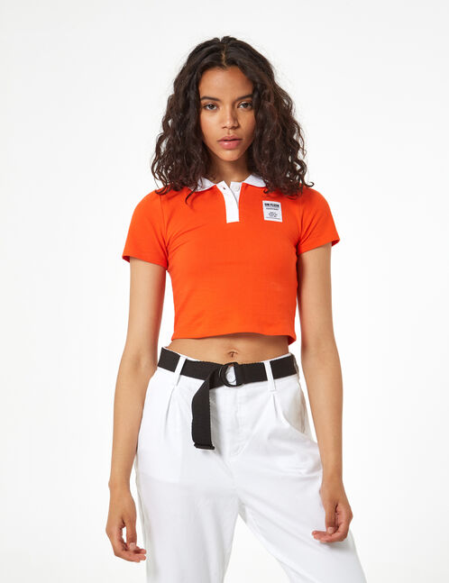 on fleek short polo