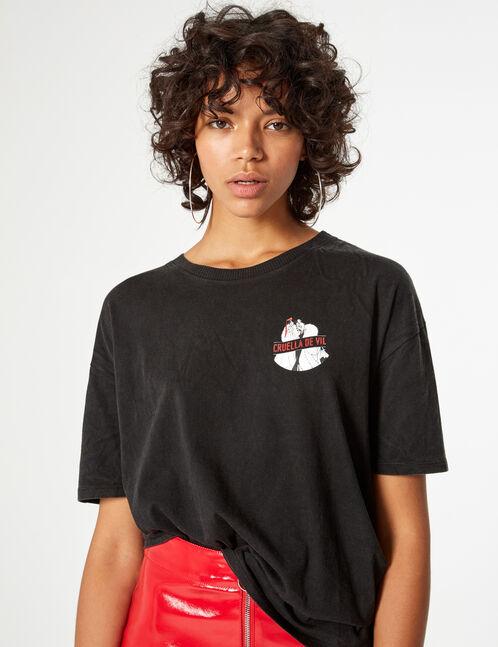 Tee-shirt Disney Cruella de Vil