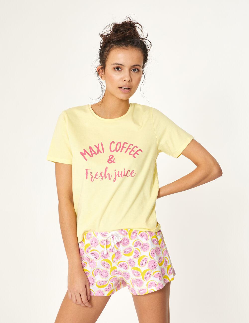 f76485c0358 Shorts And T Shirt Pyjamas Womens