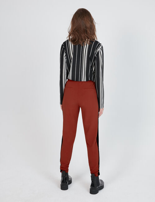 pantalon en crêpe