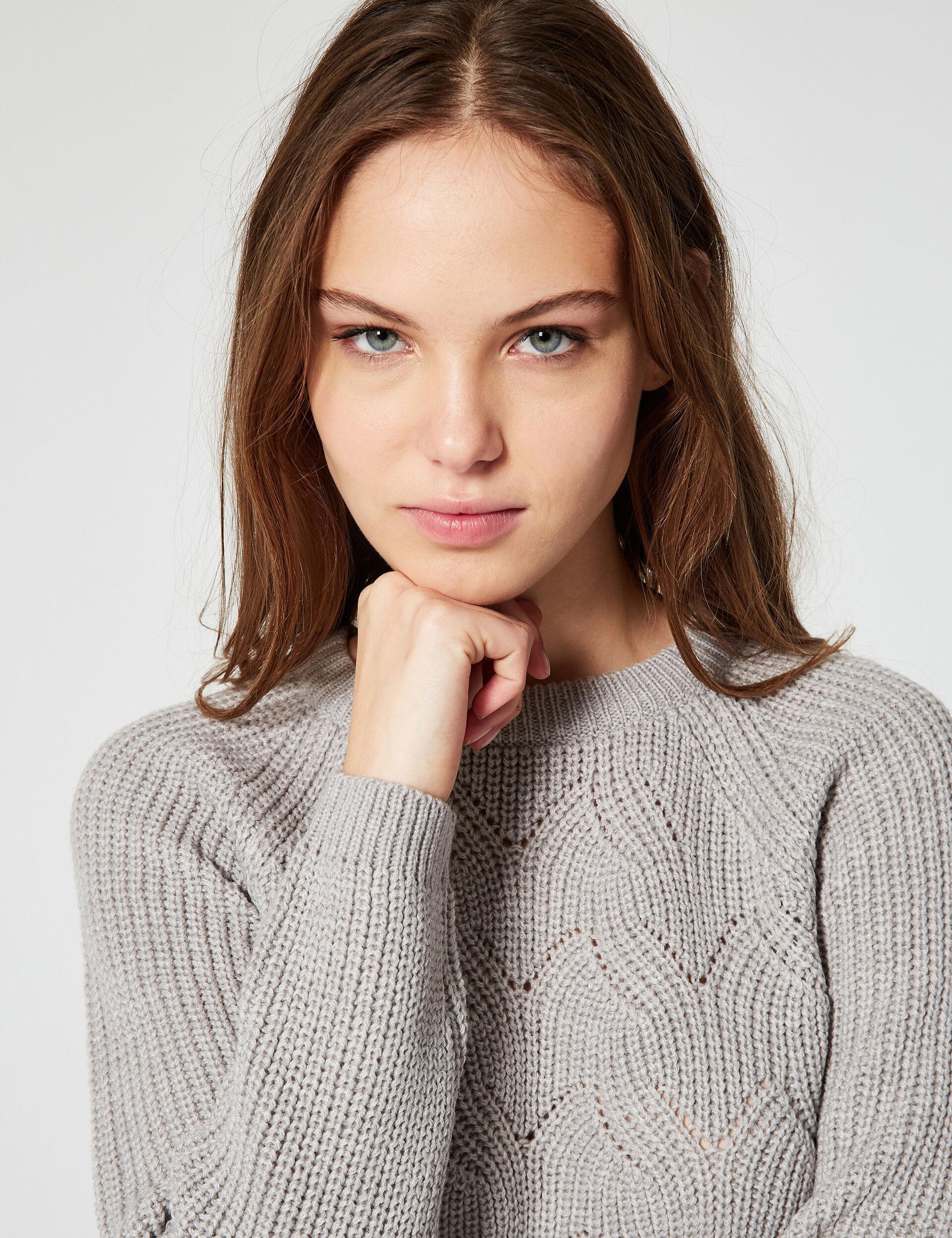 Fancy-knit jumper
