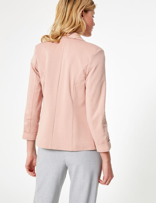 blazer rose pale