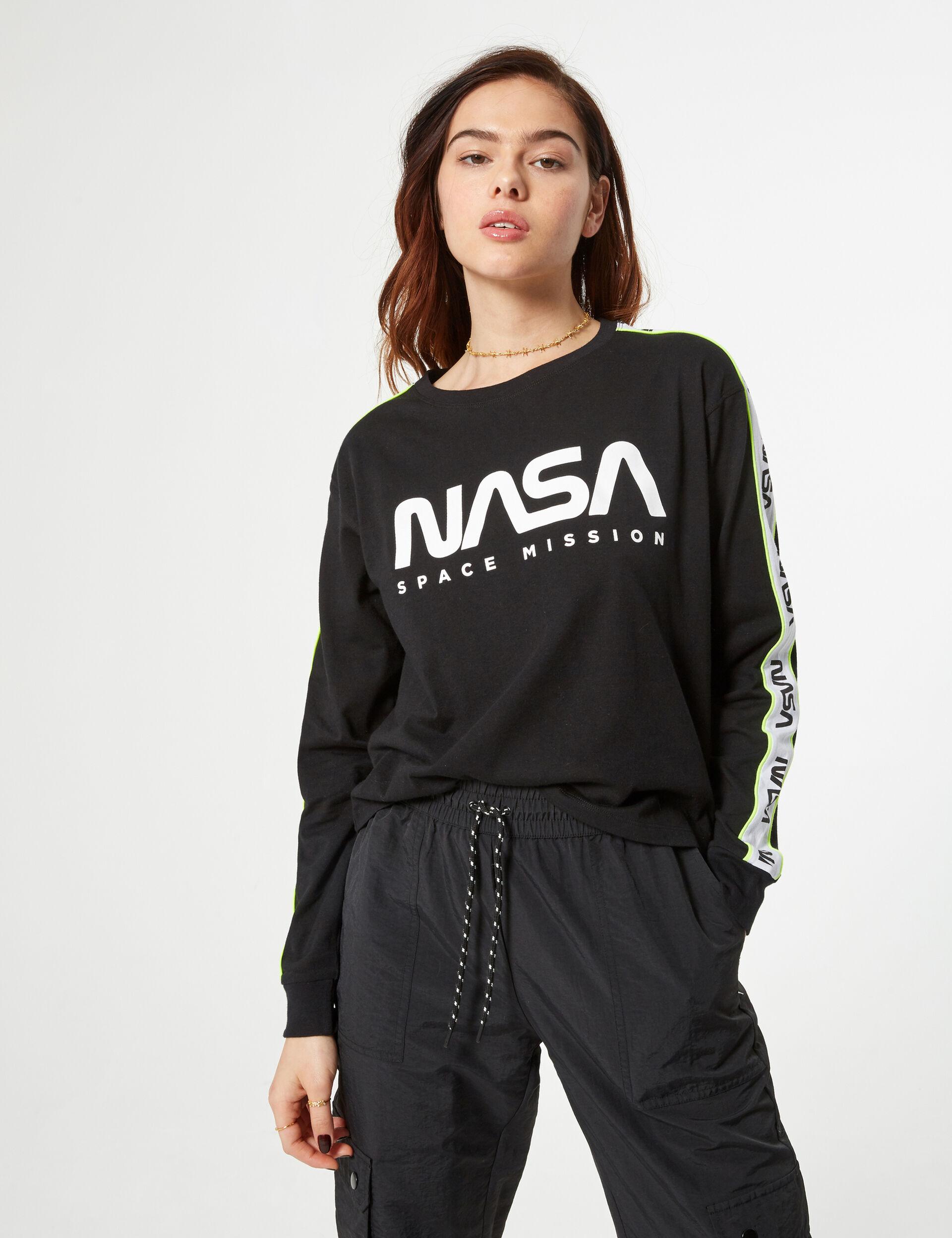 Tee-shirt NASA noir