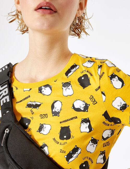 Ochre hamster T-shirt