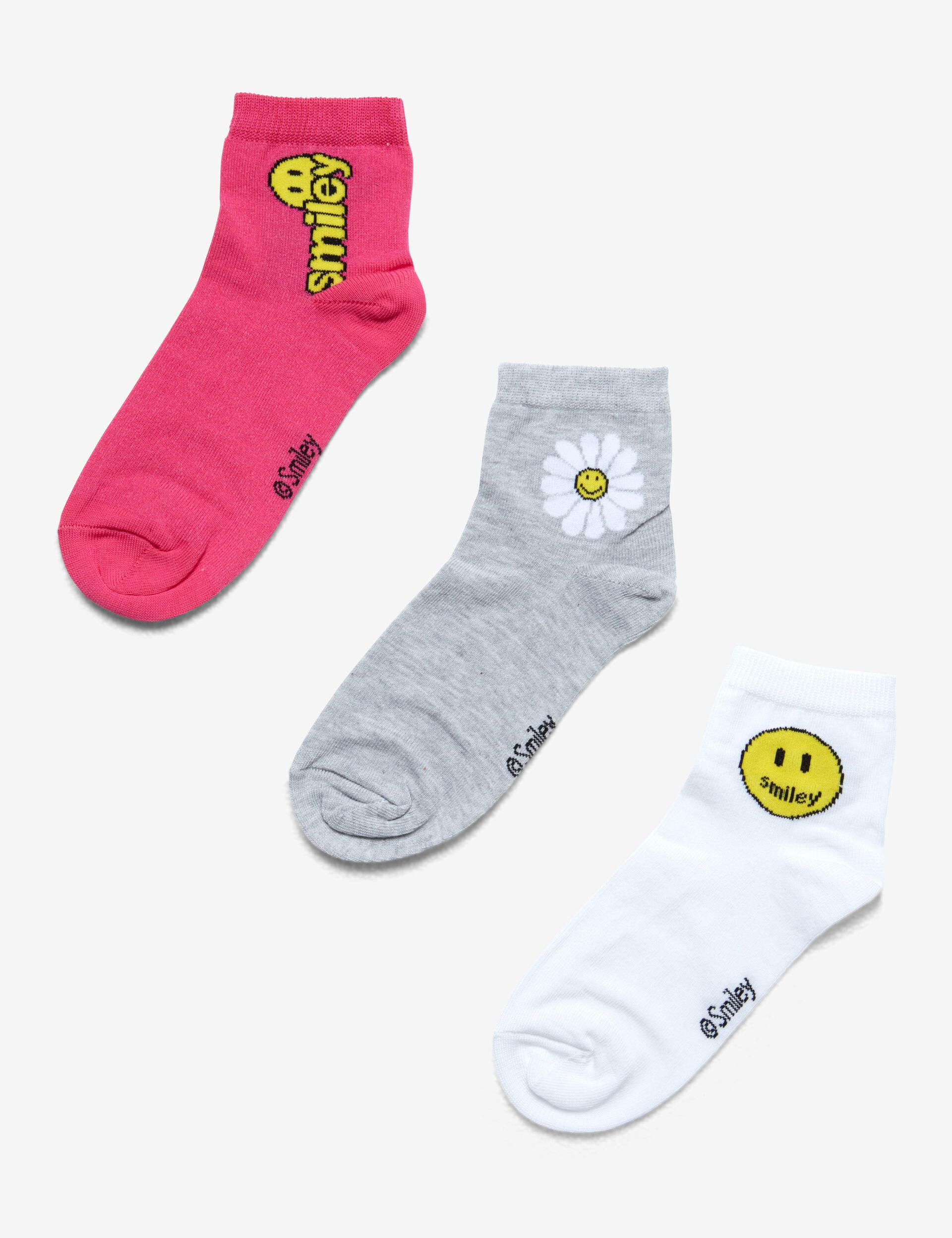 Emoji over-the-knee socks