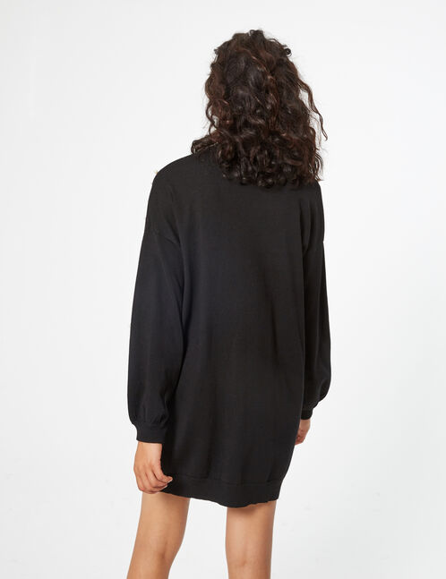 jumper dress with beading detail
