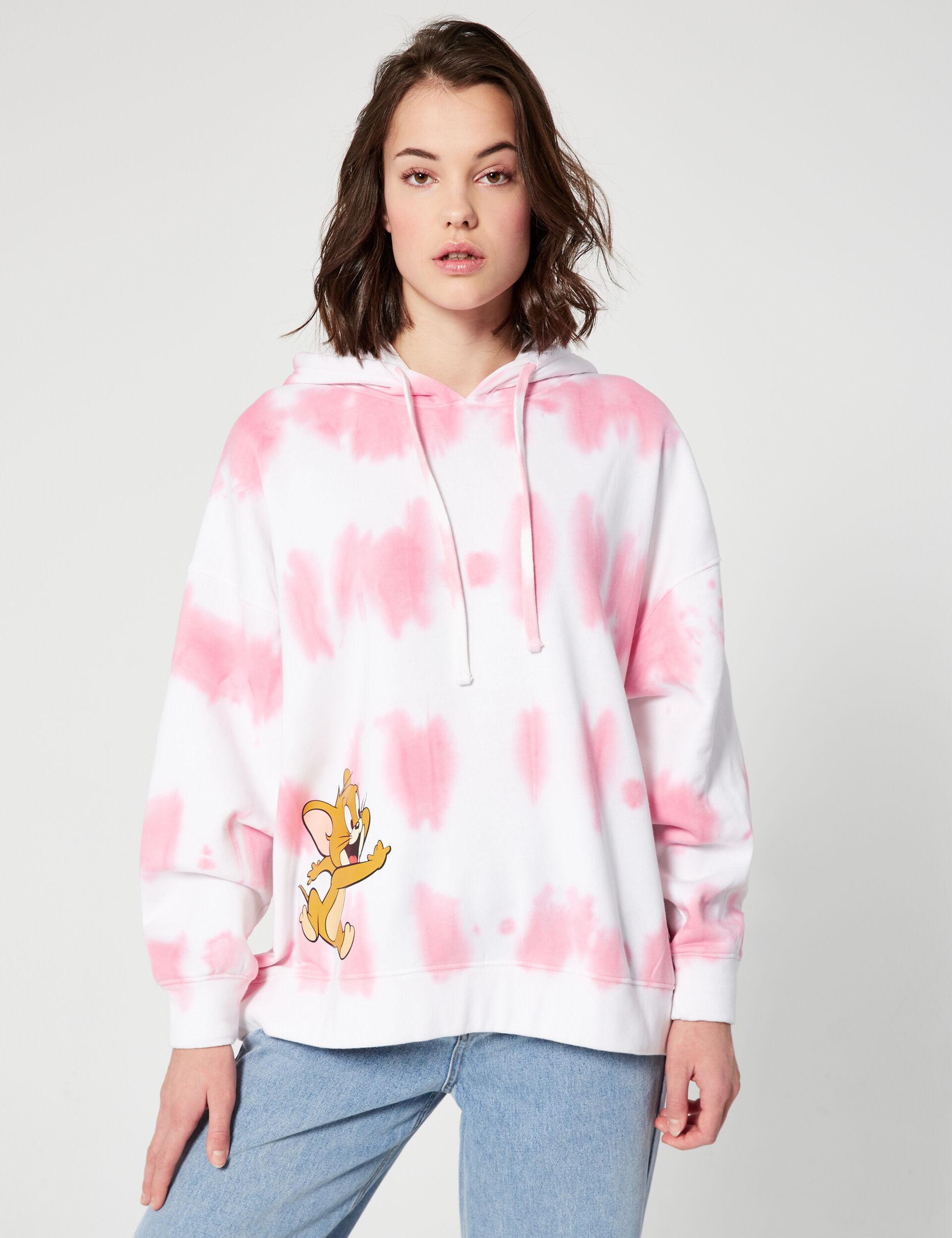 Tom and Jerry tie-dye sweatshirt