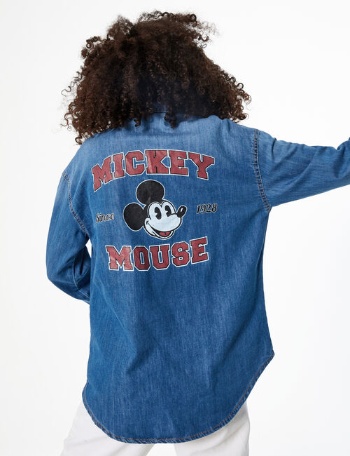 Disney Mickey denim shirt