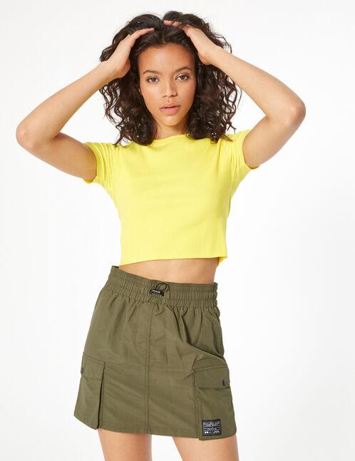 jupe imperméable à poches