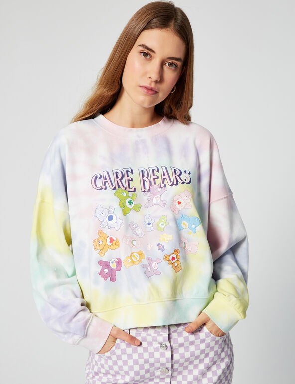 Care Bears tie-dye sweatshirt
