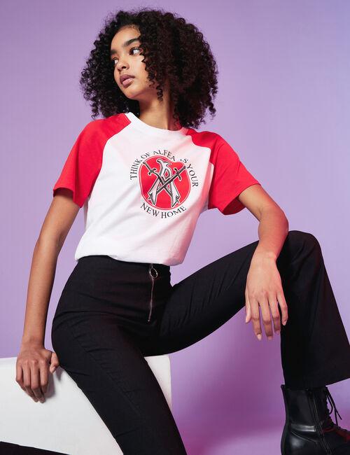 Tee-shirt Winx bicolore