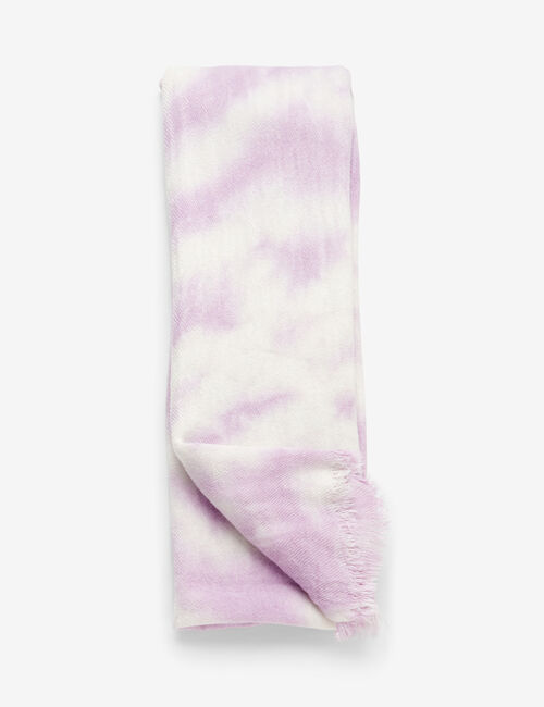 Écharpe tie and dye