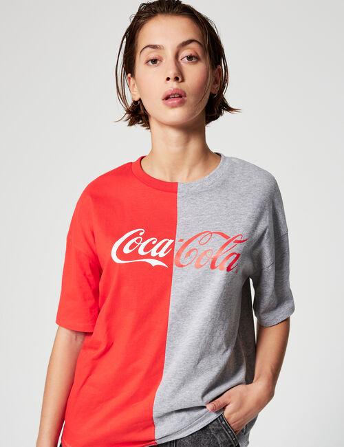 Tee-shirt Coca-Cola bicolore