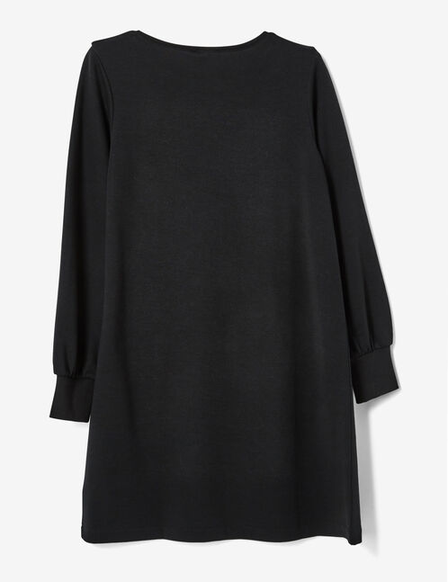 robe sweat noire