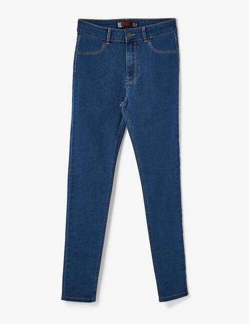 jegging taille haute medium blue