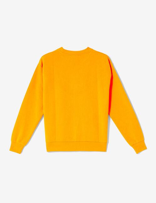 sweat bande chevron orange