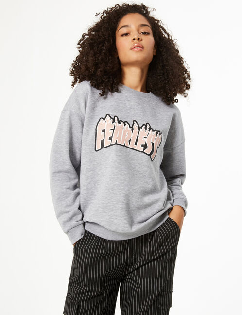 'fearless' sweatshirt