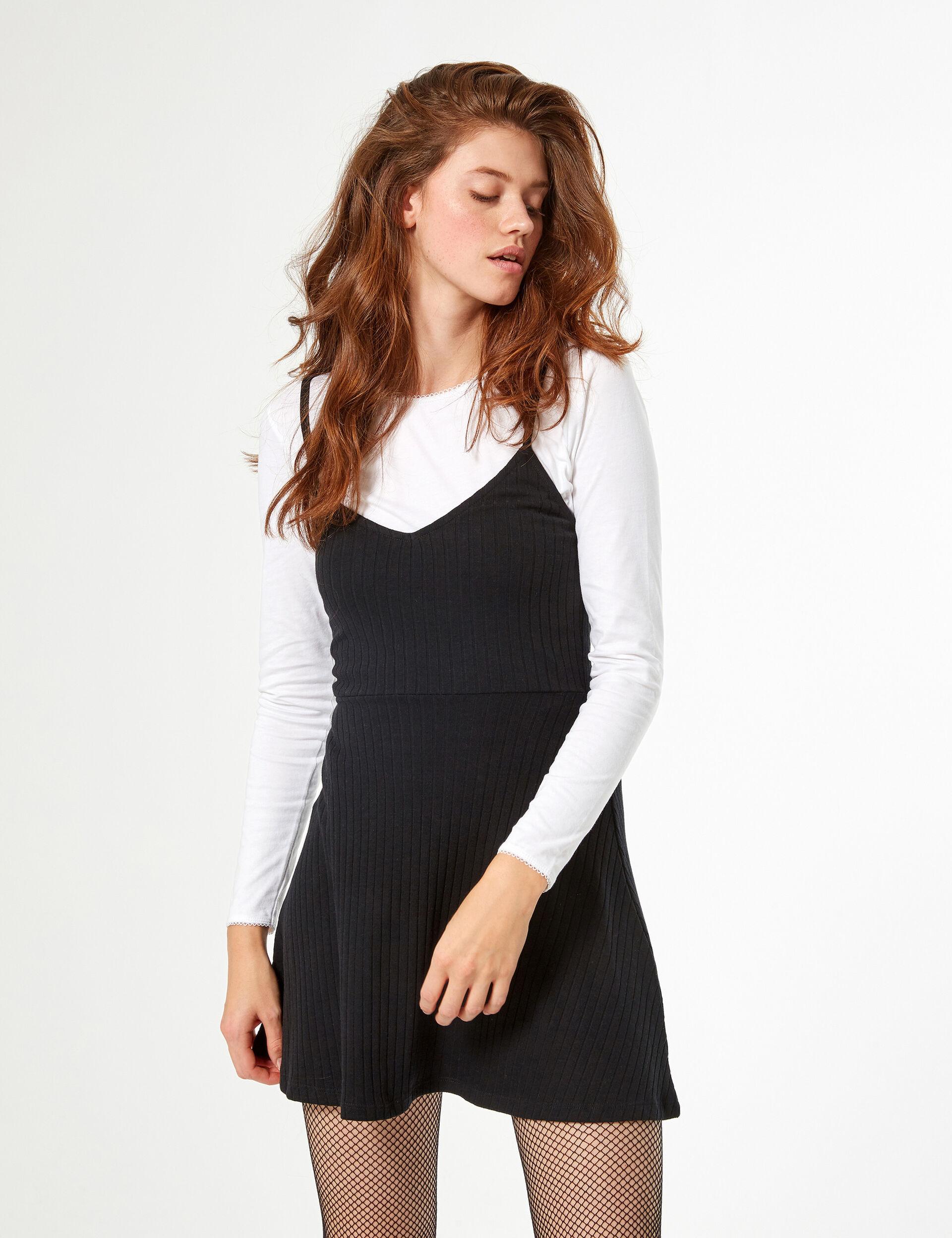 Robe doublée avec tee-shirt