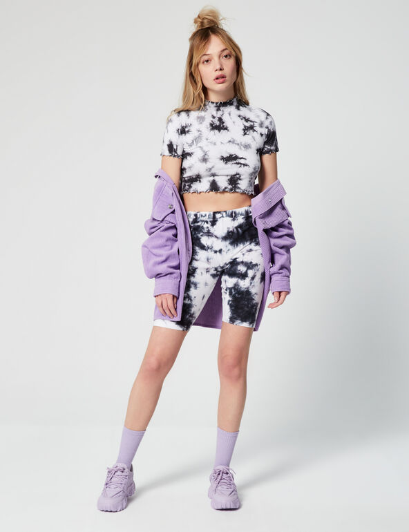 Cycliste tie and dye