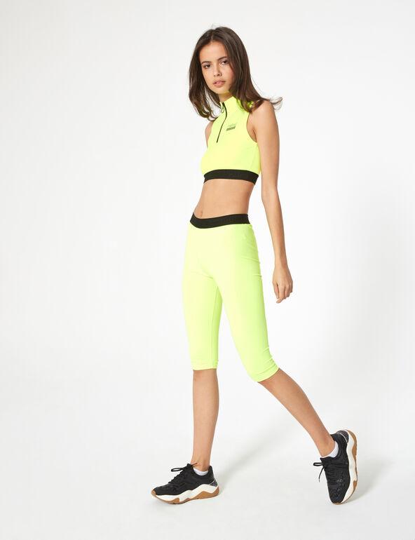 Rebel elasticated cycling shorts